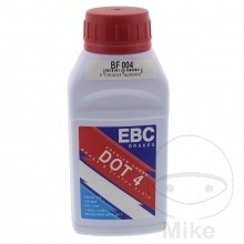 Bremsflüssigkeit von EBC DOT 4, 0,25 Liter Dose.