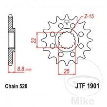 Ritzel KTM 14 Zähne Stahl Top Qualität von JT.