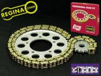 Regina Kettensatz O-Ring, Stahlkettenrad 44, Ritzel 16.