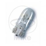 Glassockellampe 12 V, 3 W Sockel W2, 1x9,5d  länge 27 mm.