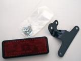 Rückstrahler mit Universalhalter, 91,5 x 36 mm E-geprüft.