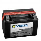 Batterie YTX9-BS/ WP 9-B/ DM H9-12B/ CTX 9-BS von Varta Wartungsfrei.